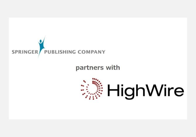 Springer Publishing selects HighWire as digital hosting partner