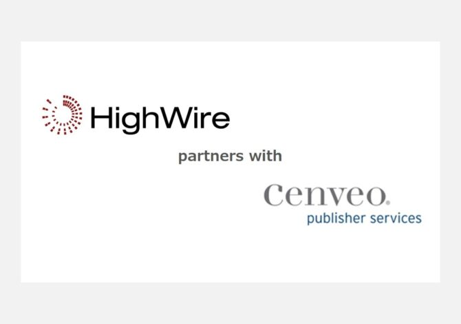 HighWire and Cenveo Publisher Services join forces in end-to-end publishing partnership