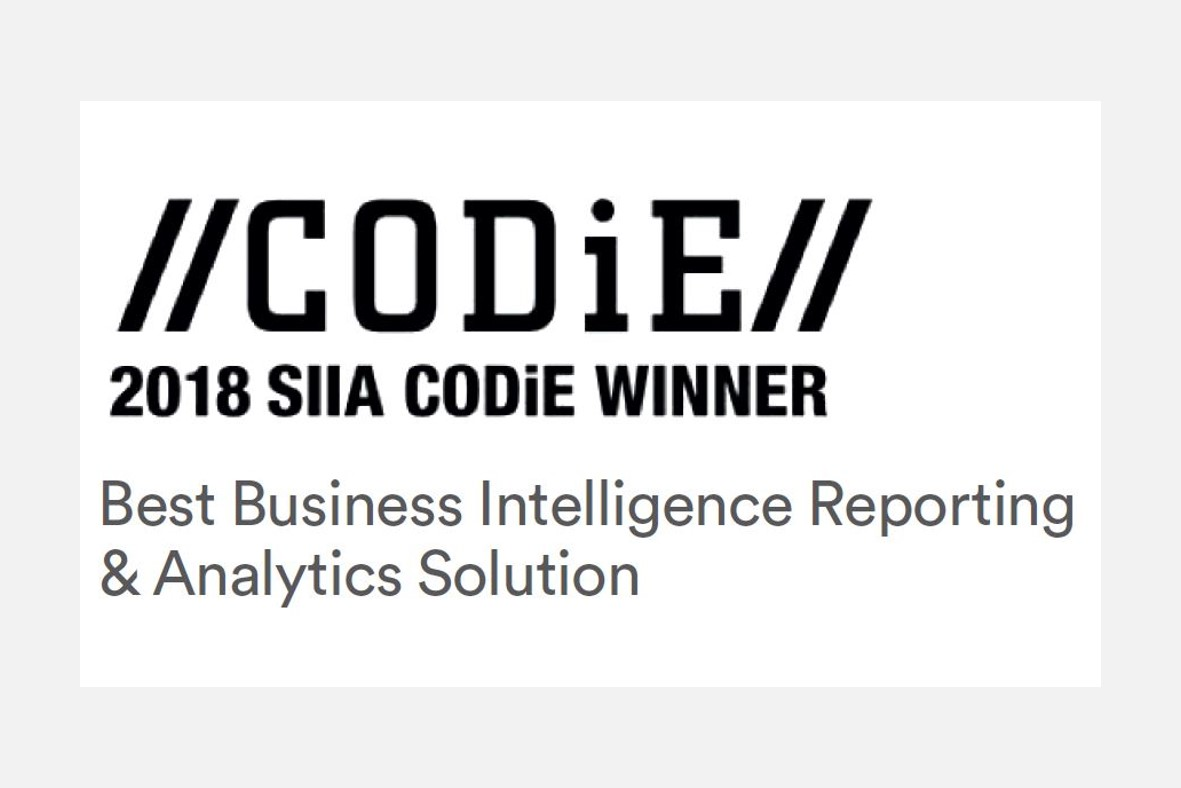 HighWire wins CODiE Award for visualized analytics product