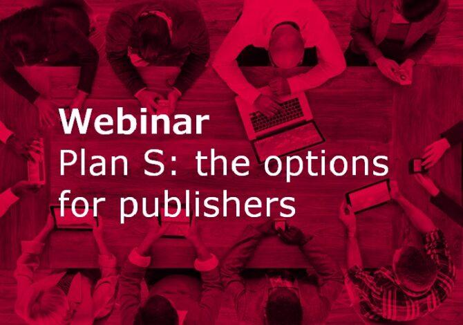 Webinar : Plan S