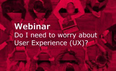 Webinar - User Experience