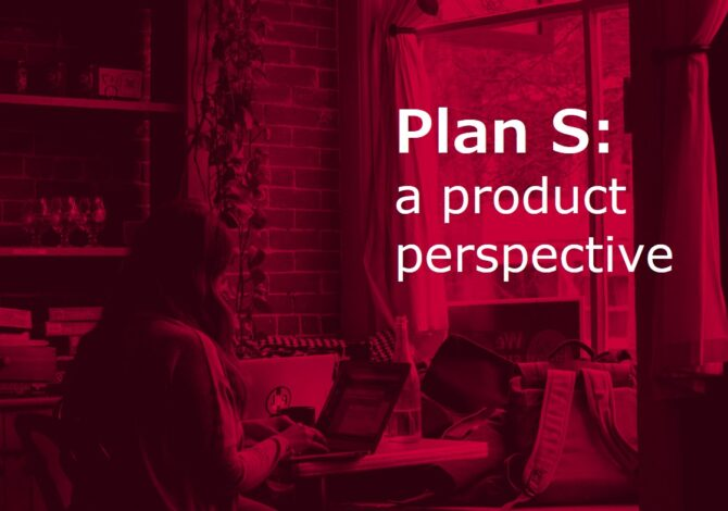 Preferred Plan S implementation options: a product perspective