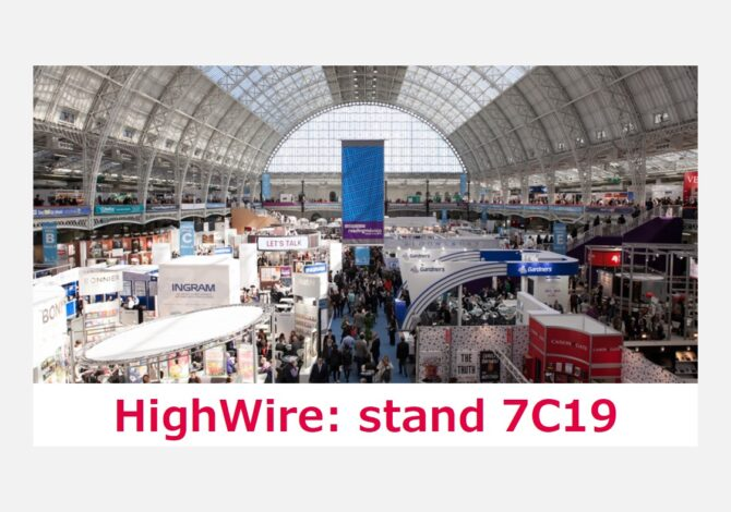 London Book Fair - HighWire stand 7C19