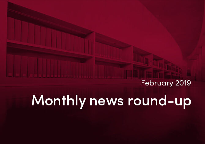 Monthly news round-up from the world of STM publishing