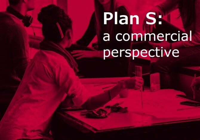 Plan S - a commercial perspective