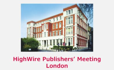 HighWire Publisher's Meeting - IET, Savoy Place, London