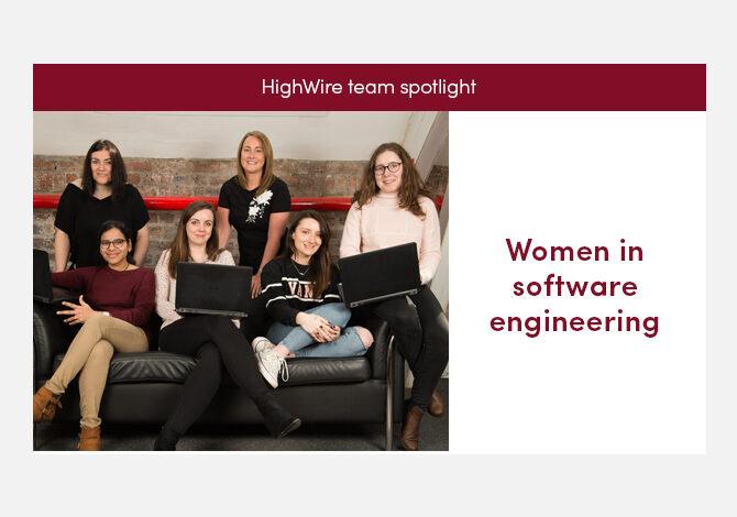 HighWire team spotlight special: women in software engineering