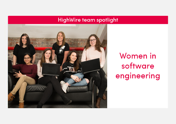 HighWire team spotlight special: women in software engineering