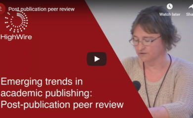 Post-publication peer review