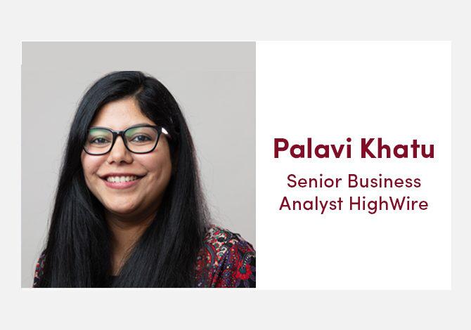 HighWire team spotlight with our Senior Business Analyst, Palavi Khatu