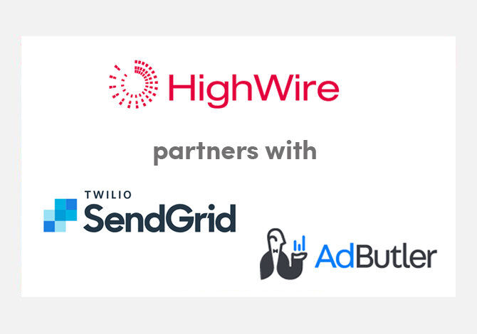 HighWire partners with SendGrid and AdButler to drive reader engagement for scholarly publishers