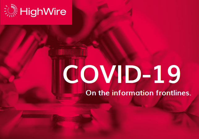 HighWire reinforces commitment to supporting dissemination of knowledge during COVID-19 epidemic