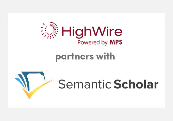 All HighWire-hosted articles are now indexed by Semantic Scholar as default
