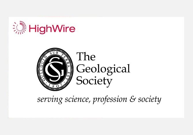 The Geological Society of London renews partnership with HighWire