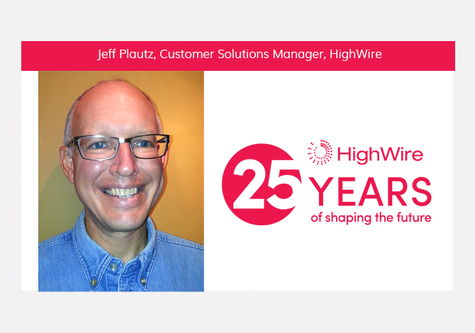 HighWire at 25: Jeff Plautz looks back