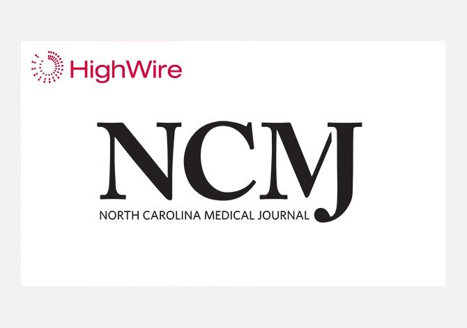 North Carolina Institute of Medicine chooses HighWire to host its flagship journal for another 7 years