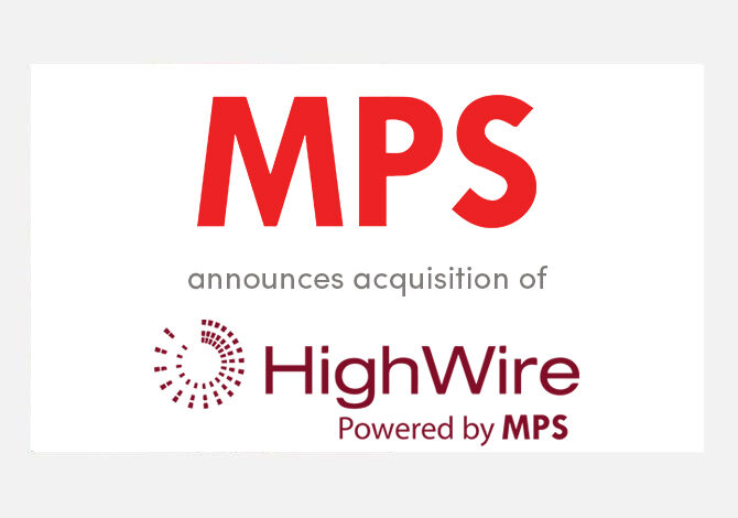 MPS completes acquisition of HighWire Press to accelerate Platform business