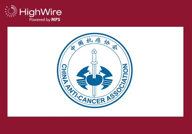 HighWire moves into new territory with journal hosting for China Anti-cancer Association