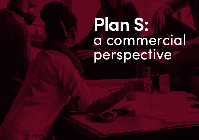 Preferred Plan S implementation options: opening up new commercial opportunities