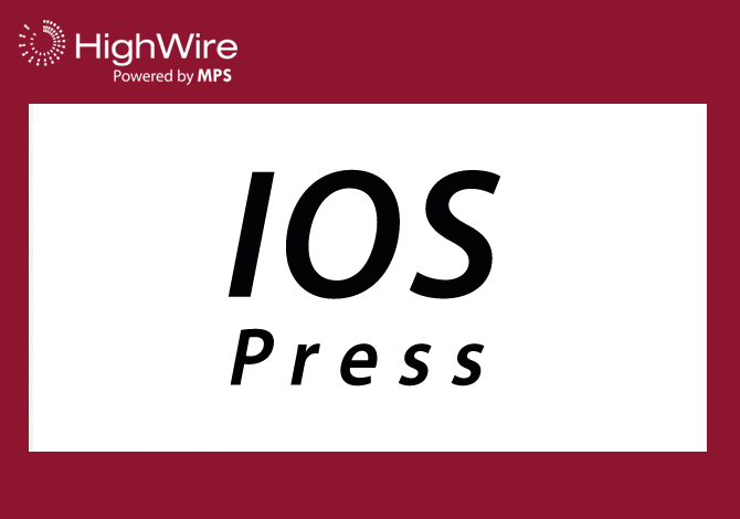 IOS Press upgrades to Scolaris, HighWire's next-generation, multi-format content platform