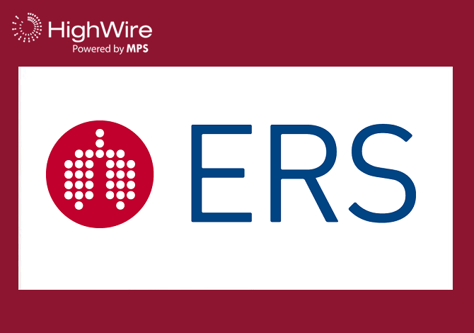 European Respiratory Society Renews Journal and Book Hosting with HighWire